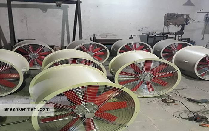 سیستم تهویه هوا سالن های پرورش بلدرچین